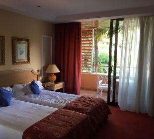 Bett und Balkon  Hotel Botanico