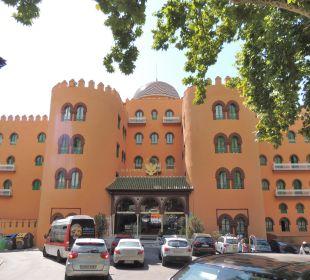 Eingangsbereich Hotel Alhambra Palace