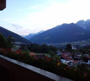 Balkonblick  Hotel Bergkranz