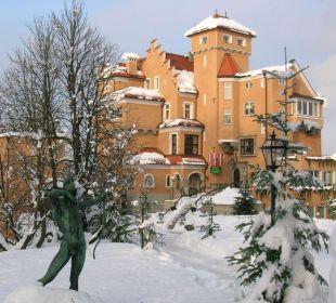 Aussenansicht Hotel Schloss Mönchstein