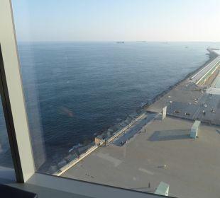 Ausblick aus dem Zimmer W Barcelona Hotel