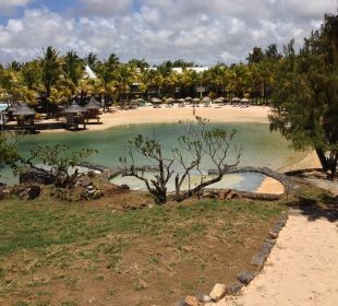 Blick vom Infinitypool Paradise Cove Boutique Hotel