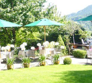 Gartenterrasse Hotel Schlossberg