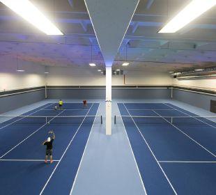 Neue Tennishalle Alpina Family, Spa & Sporthotel
