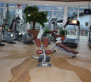Fitneßraum Luxury DolceVita Resort Preidlhof