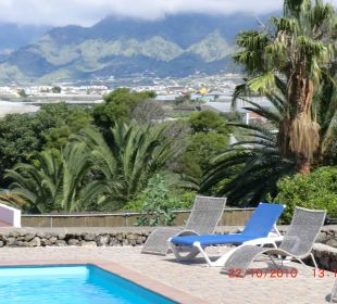 Ausblick vom Poolbereich Bungalows El Paradiso