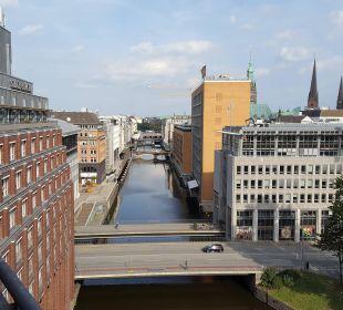 Vom Dach Steigenberger Hotel Hamburg