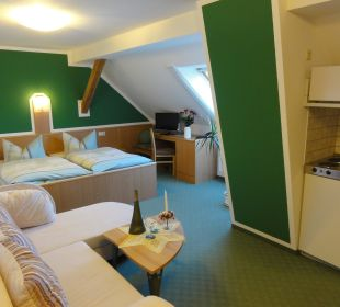 Doppelzimmer mit Miniküche Hotel-Pension Keller