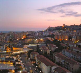 Blick auf das Castello T Hotel
