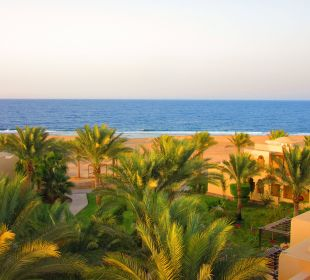 Vom Turm aus fotografiert Hotel Steigenberger Coraya Beach