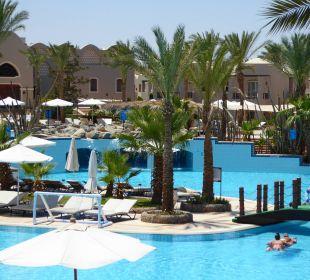 Pool zum Wasserballern Hotel Iberotel Makadi Beach