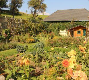Gartenanlage Bauernhaus Zechnerhof