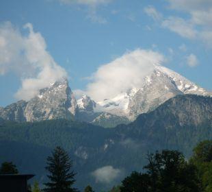 Blick auf den Watzmann Alpenhotel Fischer