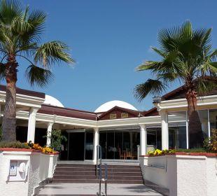 Eingang Restaurant Club Aldiana Side (Vorgänger-Hotel – existiert nicht mehr)