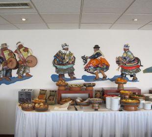 Frühstücksbuffet Hotel Libertador Lago Titicaca