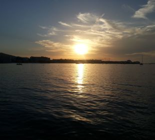 Sonnenuntergang  Intertur Hotel Hawaii Ibiza