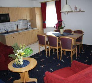 Hotelapartment mit Einbauküche Aparthotel Leuchtfeuer