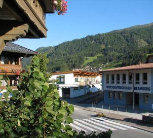 Ausblick von der Terrasse Landhotel Kaserer