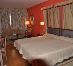 Unser Zimmer Hotel Parador de Salamanca