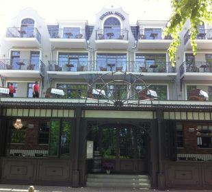 Neue Fassade mit Balkonen Europa Hotel Kühlungsborn