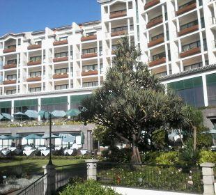 The Cliff Bay Außenansicht vom Garten Hotel The Cliff Bay (PortoBay)