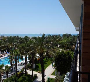 Super Ausblick vom balkon Belek Beach Resort Hotel