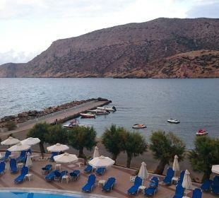 Blick vom ersten Zimmer Fodele Beach & Water Park Holiday Resort
