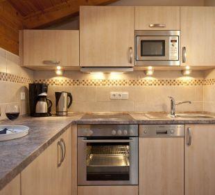 Neue Küche der Ferienwohnung Karwendel Ferienwohnung Alpenwelt