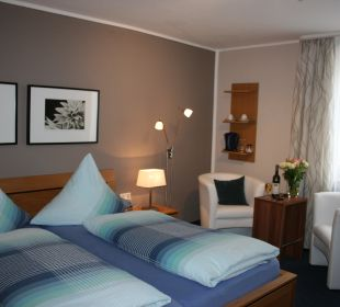 Doppelzimmer Gästehaus Albers