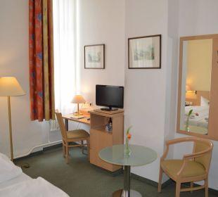 Doppelzimmer Hotel Tiergarten Berlin