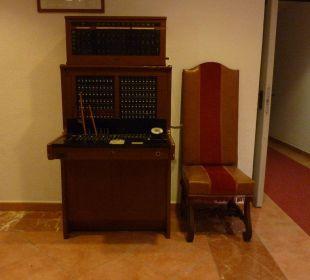Alte Telefon-Vermittlung Hotel Simbad