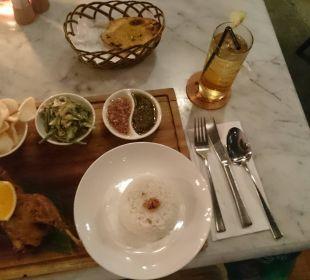 Super Essen im hoteleigenen Restaurant