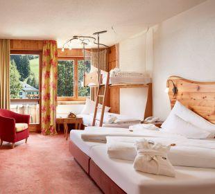 Familienzimmer mit Stockbetten - ideal Hotel Die Post