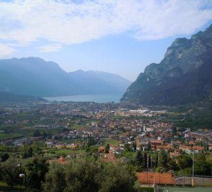 Ausblick von der Terrasse bzw. Zimmer Hotel Agritur Acetaia Gourmet & Relax