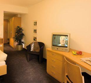 Einzelzimmer mit WC/DU, direkte Seesicht Hotel Zentrum Ländli