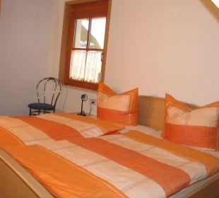 2. Schlafzimmer in der Fewo Reh Ferienbauernhof Oberjosenhof
