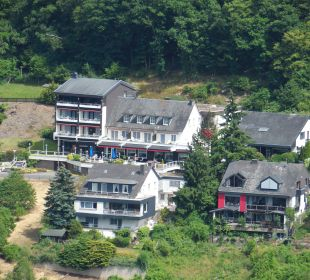 Blick vom Balkon Moselromantik Hotel Thul