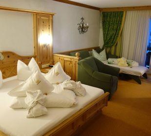 Sehr schönes Zimmer Leading Family Hotel & Resort Alpenrose