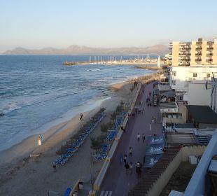 Ausblick von der allgemeinen Dachterrasse JS Hotel Horitzó
