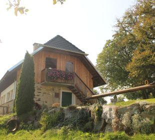 Ausblick Bauernhaus Zechnerhof