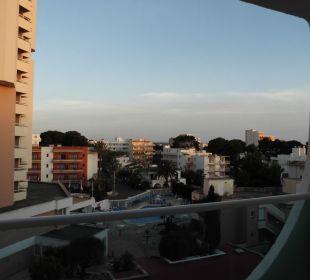 Blick - Rückseite - war ruhig Hotel Palma Playa - Cactus