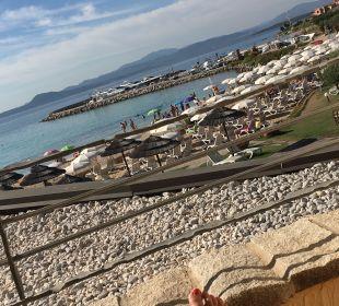 Ausblick Hotel Baia Caddinas