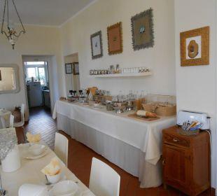 Der Frühstücksraum Hotel Villa Moretti