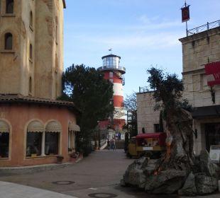 Durchgang zum Bell Rock Hotel Colosseo Europa-Park