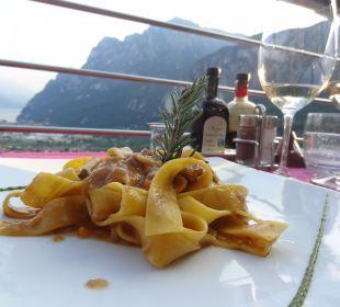 Bandnudeln mit Enteragout Hotel Agritur Acetaia Gourmet & Relax
