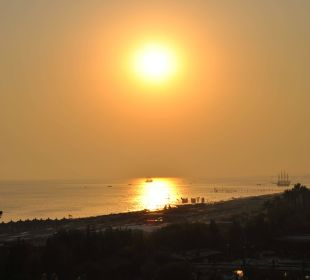 Sonnenuntergang vom Balkon Zi 4719