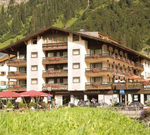 Sommerfassade Pfefferkorn's Hotel