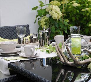 Tischkultur Country-Suites Landhaus Dobrick Am Schultalbach
