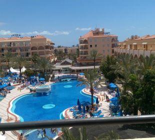 Blick vom Balkon Hotel Mirador Maspalomas Dunas