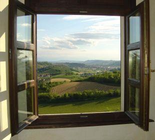 Blick aus dem Bad von Zimmer 103 Sunstar Boutique Hotel Castello di Villa